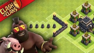 "Clash of Clans: ""GET 3 STARS... JOIN MY CLAN?"" TOWNHALL 9 DESTRUCTION"