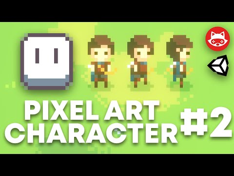 Aseprite Top Down Pixel Art Character Design and Animation Part 2 - Tutorial thumbnail
