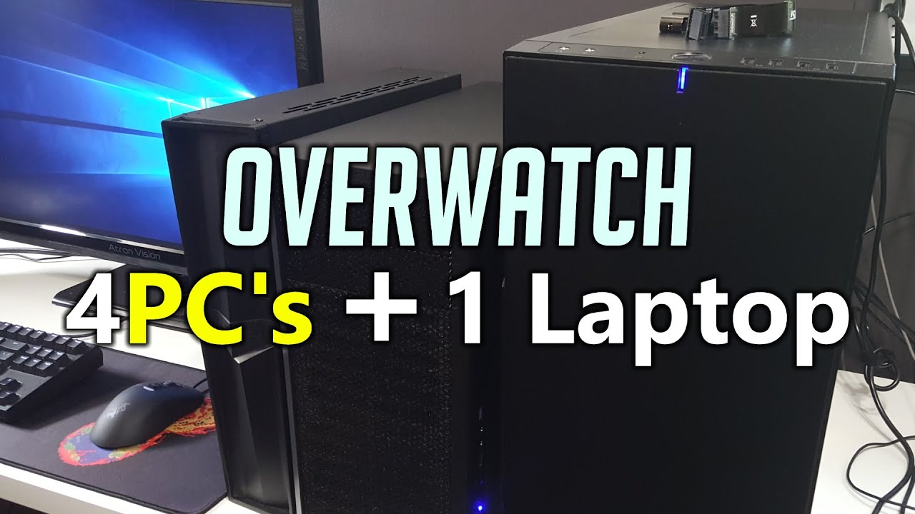 gaming laptops for overwatch