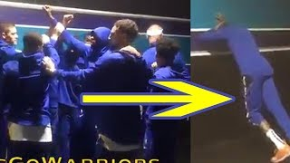 kevin-durant-is-done-playing-for-golden-state-warriors-skips-pre-game-huddle-stretches-alone