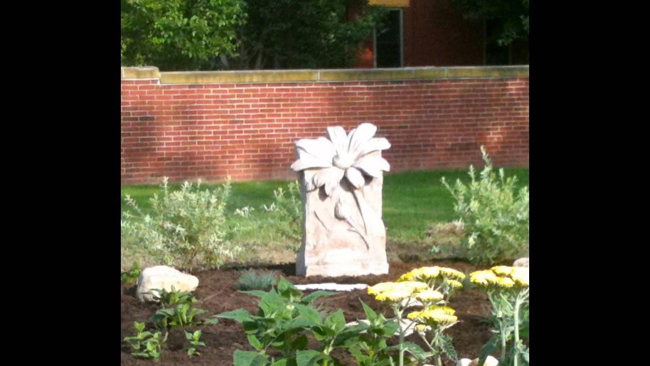 Athena Garden Hand Sculpted Home & Garden Decor - YouTube