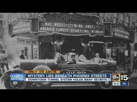 Mystery lies beneath Phoenix streets
