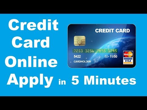 How To Apply Credit Card Online in 5 Minutes, Credit Card Online Apply