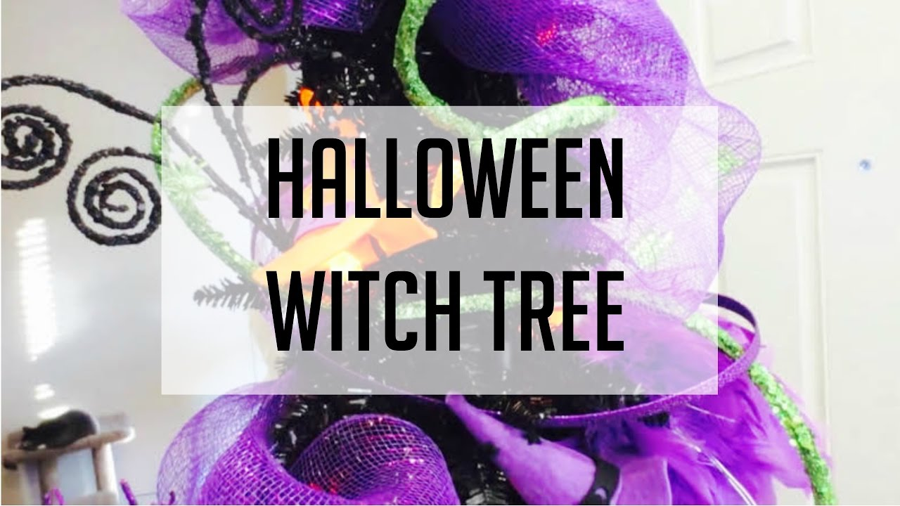 halloween series witch tree youtube