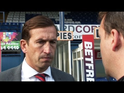 Justin Edinburgh post match iv Bury (A) 5Oct13