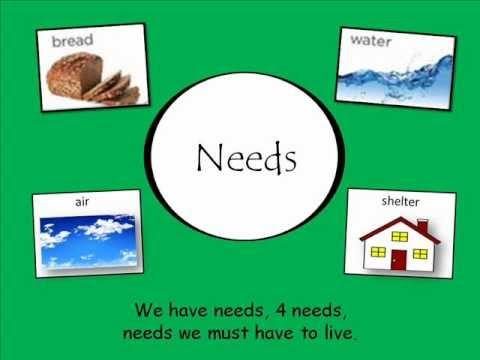 We have Needs