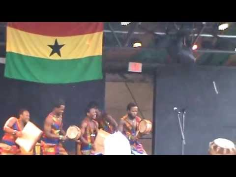 Wassa Pan Afrika Dance Ensemble  Shakori Hills fall 2014