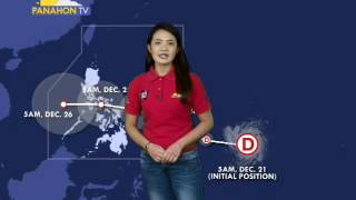 Panahon.TV | December 21, 2016, 9:00PM  (onPTvnews)