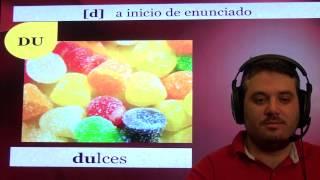 Práctica de pronunciación del español. Fonema /d/