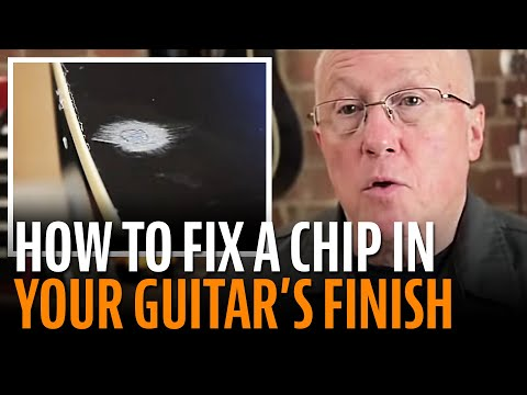 fixing-a-small-chip-in-a-guitar-finish