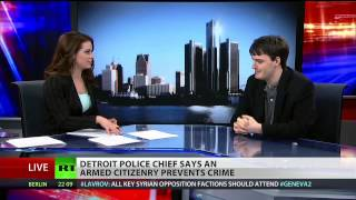 Detroit police chief says armed citizenry led to drop in crime