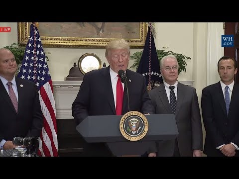 WATCH: President Donald Trump Announcement Regarding a Pharmaceutical Glass Packaging Initiative
