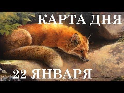 КАРТА ДНЯ 22 ЯНВАРЯ ТАРО ГОРОСКОП ГАДАНИЕ