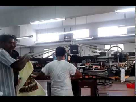 Textile Machineries, Printing Machines, Fusing Machines, Screen