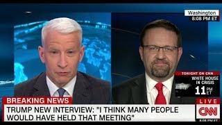 Sebastian Gorka LAMBASTS CNN's Anderson Cooper for 'Laughable' Fake News
