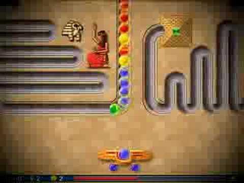 Luxor mobile game