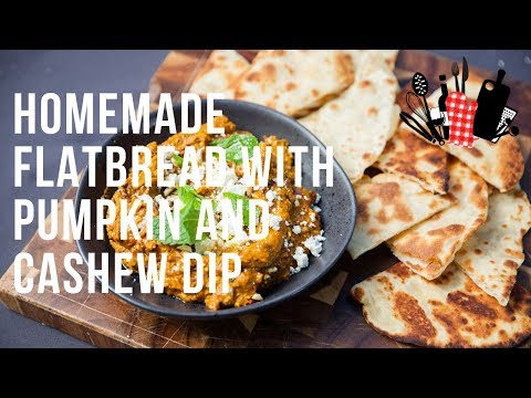 Chips and Sweet Cashew Dip
