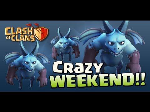 Con Dragones Y Esbirros Clash Clans Gameplay