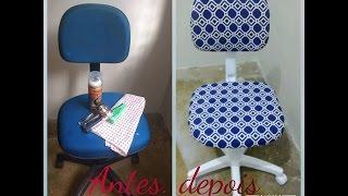 Como reformar uma cadeira de escritório