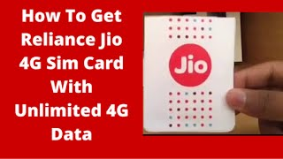 How to get Jio SIM & 3-month free data offer for any 4G phone