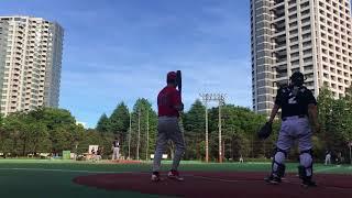 20180630 17:00 - 19:00 @西戸山公園野球場 vs Tarchars 3:10 패.