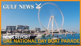 Colourful boat parade marks 49th UAE National Day