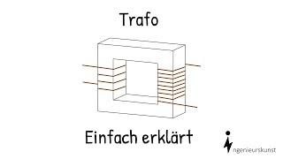 Wie funktioniert ein Transformator?  Einfache Erklärung - Aufbau und Funktion
