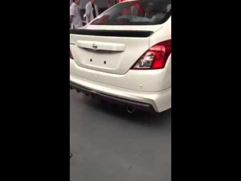 Nissan Almera Nismo exhaust sound. เสียงท่อนิสสันอัลเมร่านิสโม่.