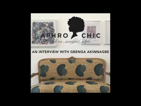AphroChic Interview with Gbenga Akinnagbe
