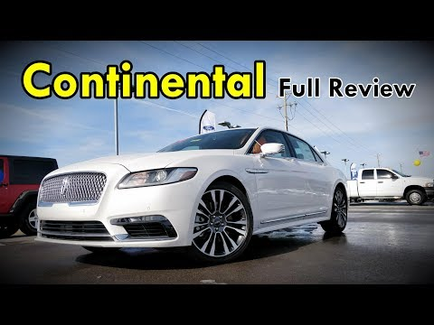 2018 Lincoln Continental: FULL REVIEW | Black Label, Reserve, Select & Premiere