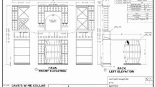 New Custom Wine Cellars Chicago Illinois - Palos Heights - Dave