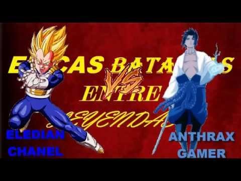 EPICAS BATALLAS ENTRE LEYENDAS -- SASUKE VS VEGETA -- (FT ELEDIAN)