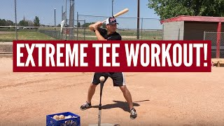 Extreme Baseball Tee Workout for Hitters! The batting tee is an old...