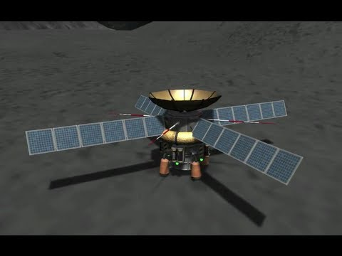 KSP - Kerbal Space Exploration - #4 Survey Drones To Mun Part 2