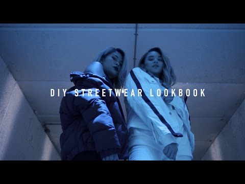 DIY Streetwear Lookbook