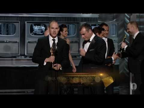 """Inception"" winning the Oscar® for Visual Effects"