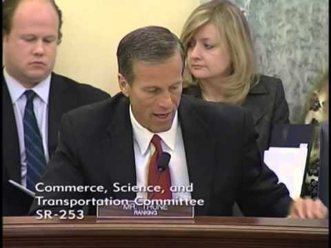 Thune at Commerce on Vehicles of the Future