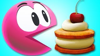 Learn Colors With SQUISHY WonderBalls As He Eats Tasty Cake  | Funny Cartoons by Cartoon Candy