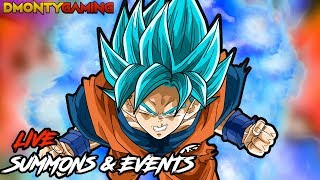 FINISHING THE LAST SUPER BATTLE ROADS!! | LIVE SUMMONS AND EVENTS! | DRAGON BALL Z DOKKAN BATTLE