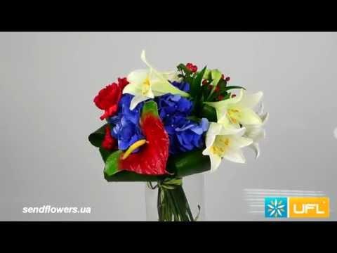 Букет на подарок - доставка цветов по Украине и мируиз YouTube · С высокой четкостью · Длительность: 35 с  · Просмотров: 894 · отправлено: 20.10.2014 · кем отправлено: UFL - онлайн сервис доставки цветов