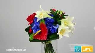 видео Доставка цветов по Украине