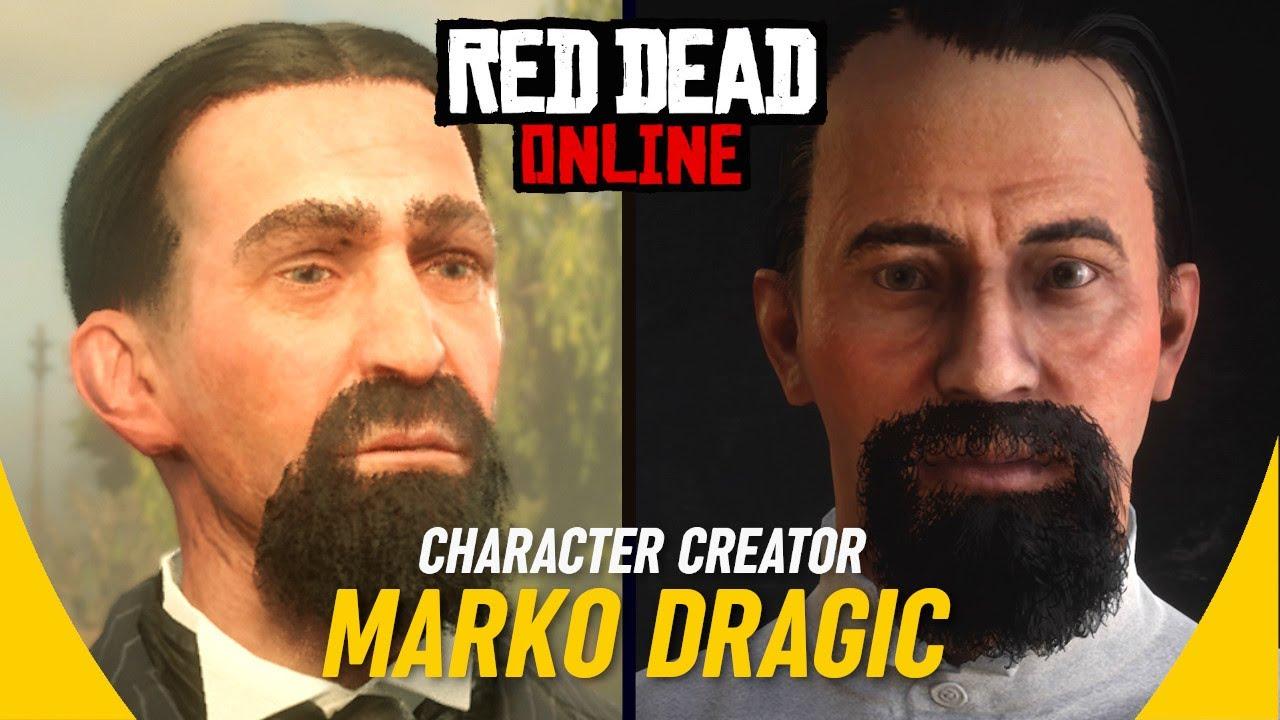 MARKO DRAGIC: Character Creator (Nikola Tesla) RDR2