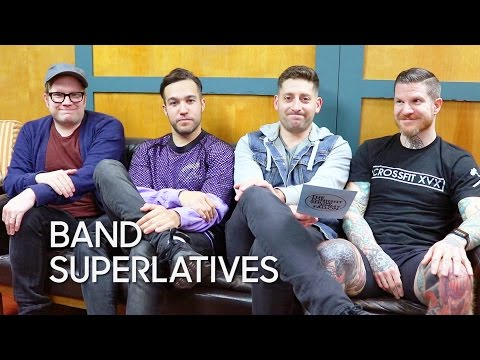 Band Superlatives: Fall Out Boy