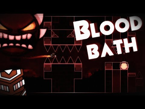 [FR] Bloodbath (by Riot & more | Michigun route) | Geometry Dash (144Hz)