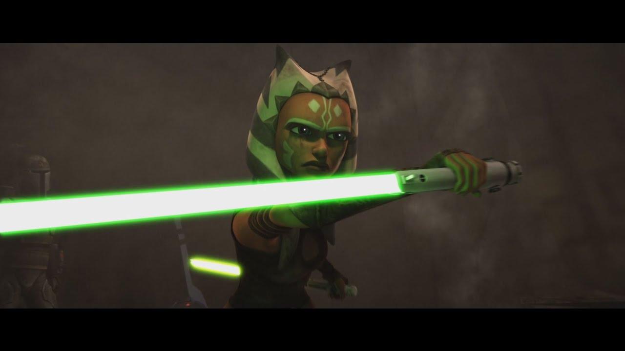 Star Wars: The Clone Wars - Ahsoka Tano vs Pre Vizsla [1080p]