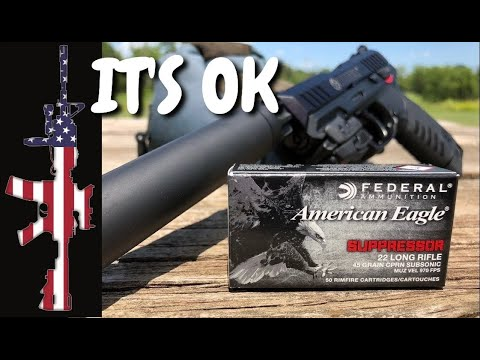 Federal 22 LR Suppressor Ammo -