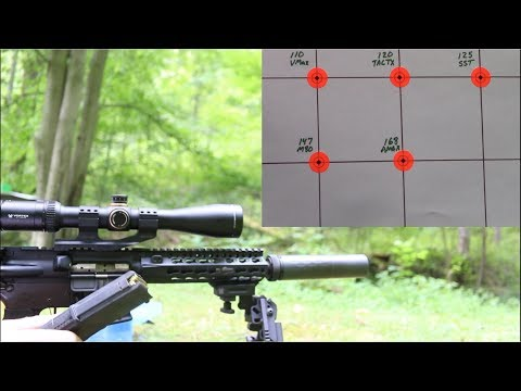 "300 BLK - CMMG 8"" Barrel Break-In and Accuracy Tests"