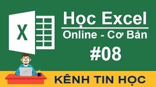 Học Excel cơ bản - #8 - Cách sử dụng chức năng và hàm Transpose trong Excel 2016