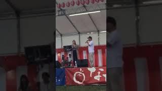 アップロードし忘れてた 2016年七飯納涼祭カラオケ大会の動画.
