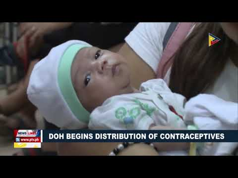 DOH begins distribution of contraceptives